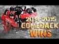 Calgary Flames Comeback Wins - 2014/2015 Season