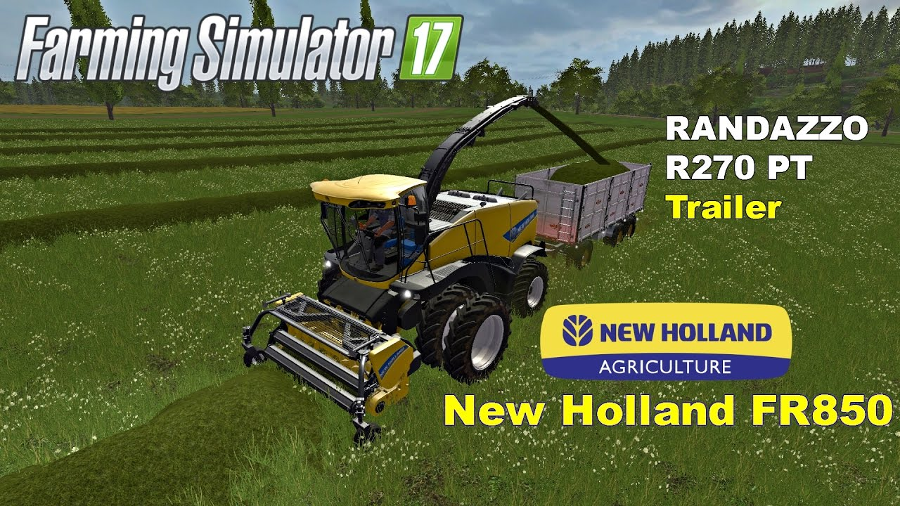 FS | 17 | Mods FR 850 Forage Harvester collecting grass