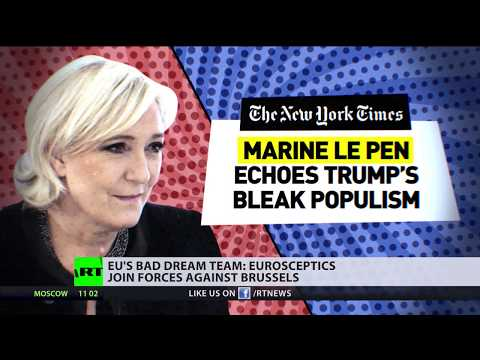 'We're fighting against EU, not Europe': Le Pen & Salvini join forces before EU elections