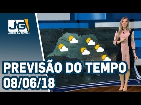 Previsão do Tempo - 08/06/2018