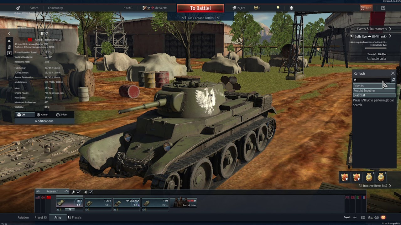 can you play war thunder with friends