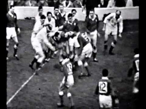 England v Wales 5 Nations Rugby 1964