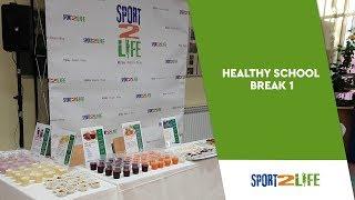 Sport2Life Healthy School Break in Elementary School Bol in Split, Croatia