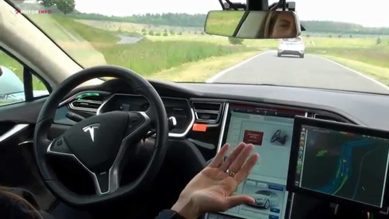 Tesla Model S Bosch Automated Driving Youtube