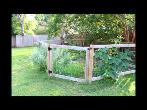vegetable garden fence, Garden idea
