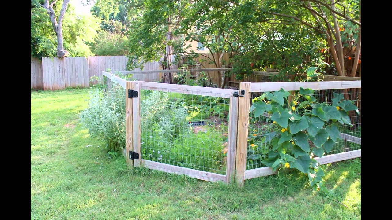 Vegetable Garden Fence 2017