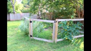Vegetable Garden Fence 2015