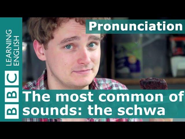 English pronunciation: Schwa