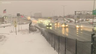 Here's what Minnesota roads look like after the October snowfall