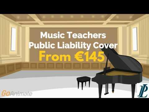 Music Teachers Public Liability Cover