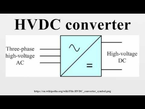 HVDC converter