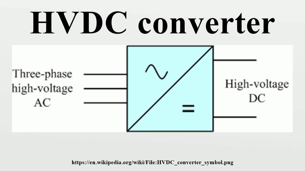 Hvdc Converter Youtube