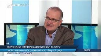 Eléctions fédérales en Suisse : analyse des résutats