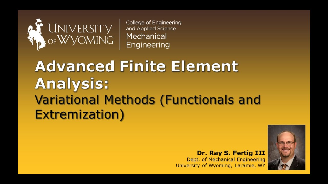 Download 5-1a: Variational Methods (Functionals and Extremization)