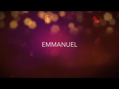 Emmanuel (God Is With Us Now) - Lyric Video | Luke Nathan Bacon
