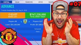 YES!! INSANE TRANSFER DEADLINE DAY SIGNING! FIFA 19 Career Mode Manchester United #06