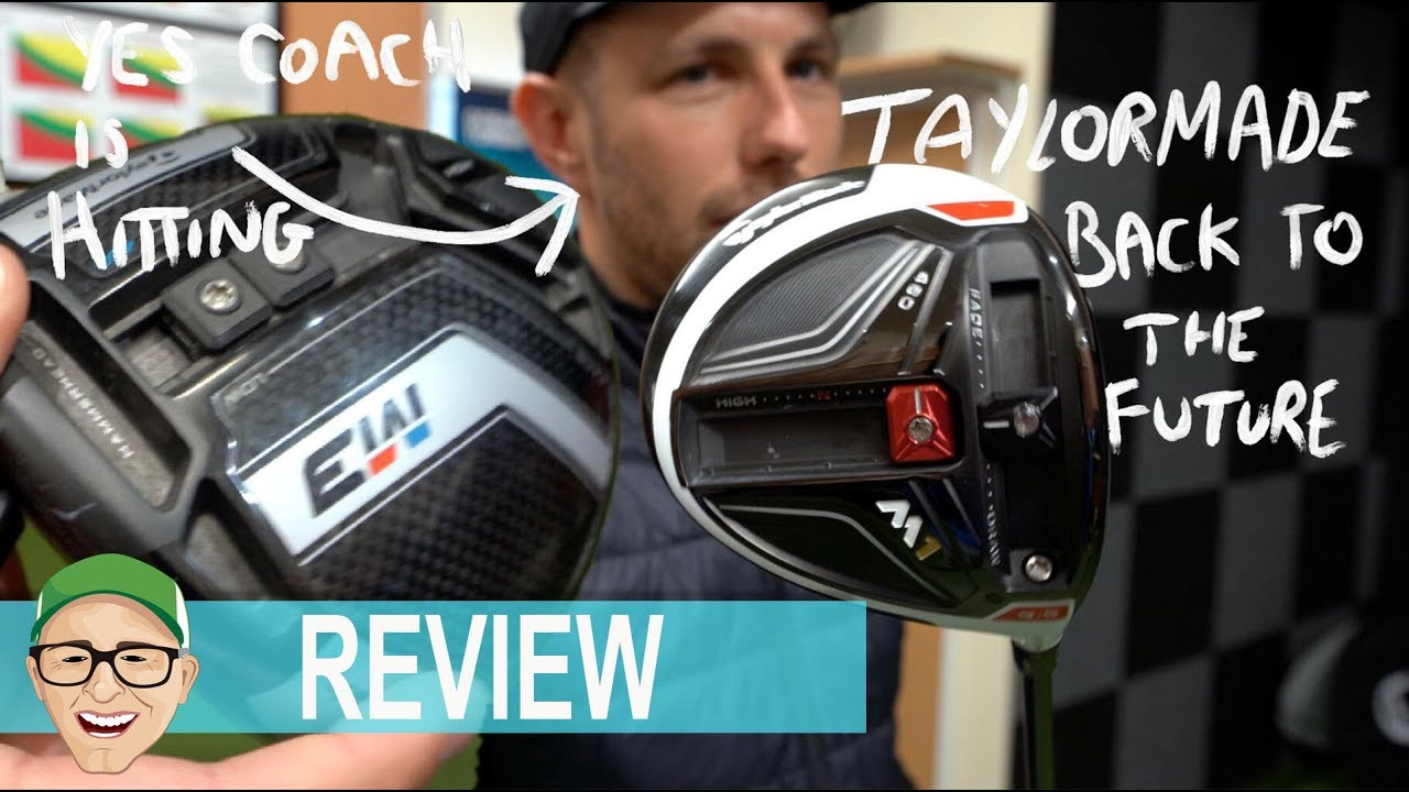 TAYLORMADE BACK TO THE FUTURE DRIVER TEST OLD VS NEW