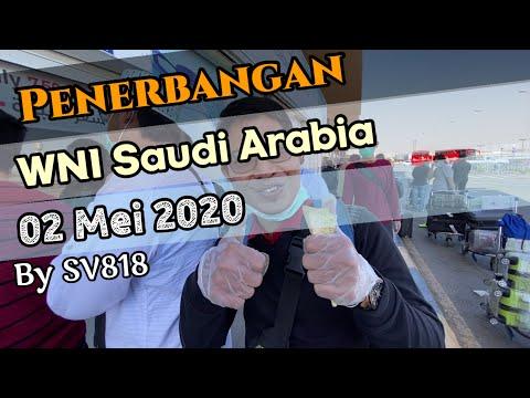 Penerbangan WNI Saudi Arabia 02 Mei 2020 By SV818