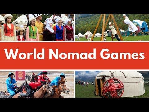 World Nomad Games in Kyrgyzstan (Дүйнөлүк көчмөндөр оюндары - Всемирные игры кочевников)