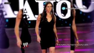 "2013: Stephanie McMahon 7th & New WWE Theme Song - ""Welcome To The Queendom"" (HD) + Download Link"