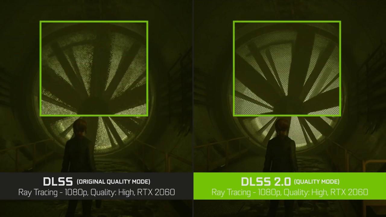 supersampling feature vs DLSS.20