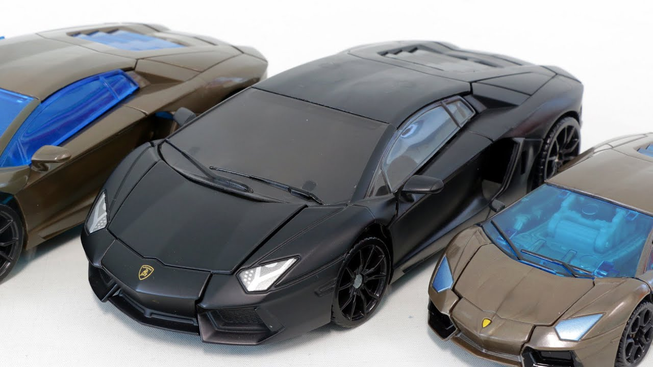 Transformers Lamborghini Black LockDown Vehicle Robot Car ...