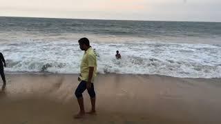 An Evening in the Cherai Beach