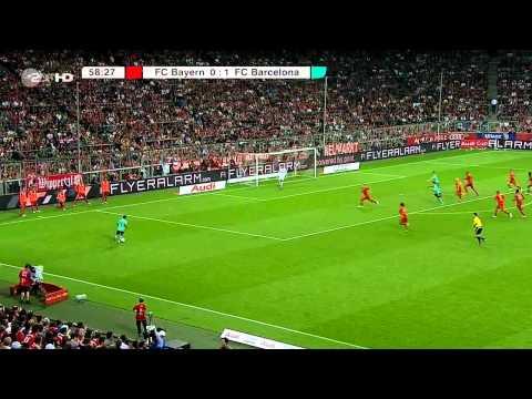 Thiago Alcantara vs Bayern Munchen (Audi Cup Final) 11-12 HD 720p by Hristow