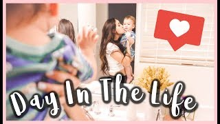 DAY IN THE LIFE AS A YOUNG MOM OF 3