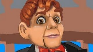 How to draw Slappy the Dummy from Goosebumps