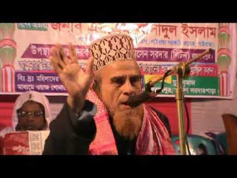 Al-Haj Doctor Allama Mufti Sayed Nazrul Islam waj part-01(Liton) Ragnutnathpur,Gaibandha