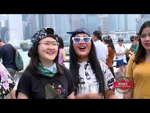 MISSION X - Melky & Aden Culik Anak Orang Di Hongkong (18/8/18) Part 1