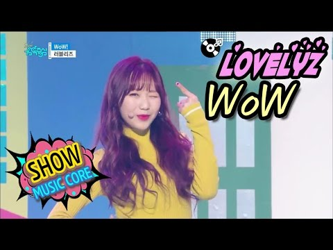 [Comeback Stage] LOVELYZ - WoW!, 러블리즈 - 와우! Show Music core 20170304