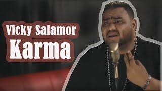 KARMA ( Vicky Salamor ) Cover By : Loins Roberthus ft Adhitya Pratama ( Element Reunion )