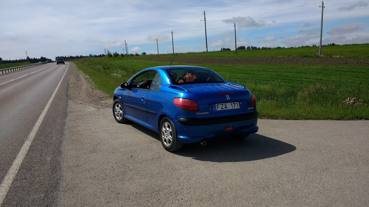 2001 Peugeot 206 CC - Is It A Good Alternative To A Roadster .