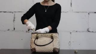 Обзор женской сумки из натуральной кожи. Производитель Италия, Marino Orlandi