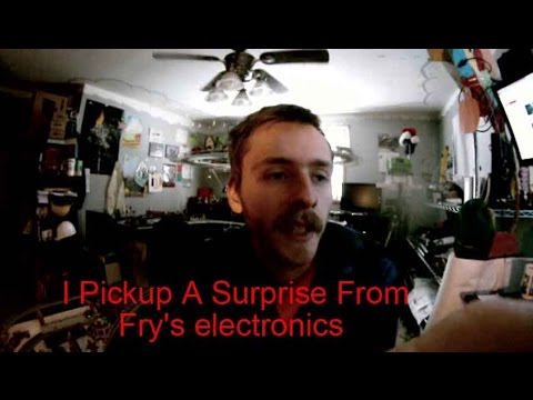 michaeltechroom vlog090 I Pickup A Surprise From Fry's electronics