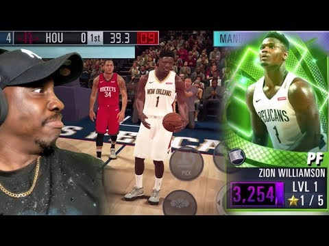 ZION FINALLY IN 2K MOBILE! (Gameplay & Pack Opening) NBA 2K Mobile Season 2 Ep. 7