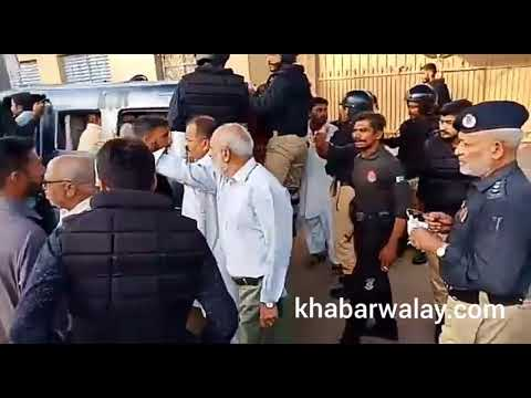 Government lawyers protest infront of Sindh assembly Karachi.