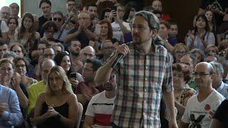 """Iglesias ve """"indigno"""" usar la exhumación de Franco de forma electoral"""