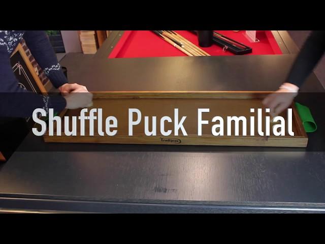 Shuffle puck jeu en bois familial