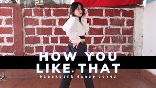 BLACKPINK - How You Like That DANCE COVER ✨ cherryinfusion