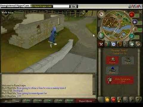 How To Use A Swamp Lizard In Runescape