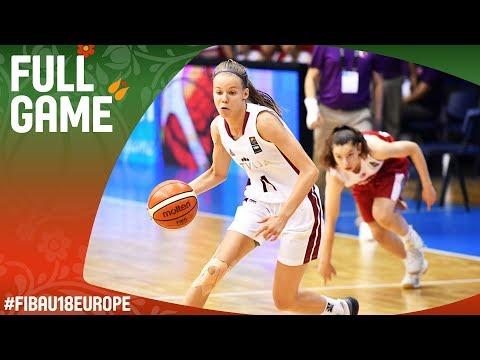 Latvia v Turkey - Full Game - FIBA U18 Women's European Championship 2017