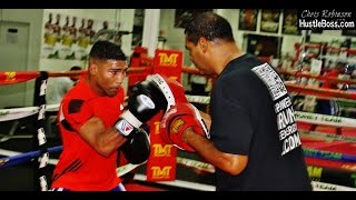 Yuriorkis Gamboa Sharp Mittwork Inside The Mayweather Boxing Club [sep 2015]
