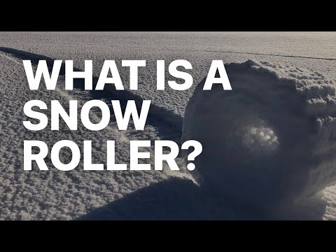 How'd This Happen? Snow Rollers