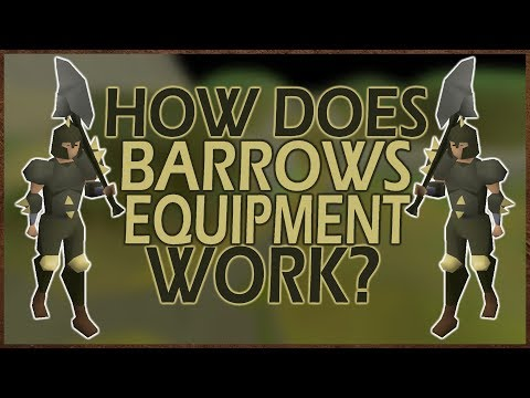 [OSRS] Barrow's Equipment USES And EFFECTS