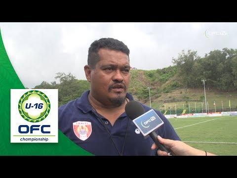 2018 OFC U16 CHAMPIONSHIP - New Caledonia v Tahiti - Post Match Interview