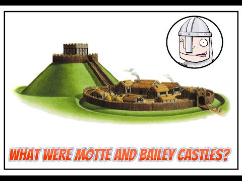Motte and Bailey Castles  YouTube