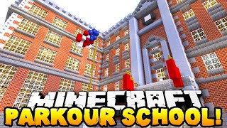 Minecraft - PARKOUR SCHOOL! #1 w/ The Pack!